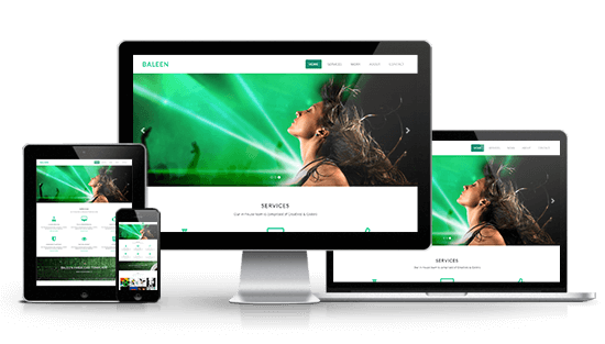 Responsive websites and online shops in London, Stockport.