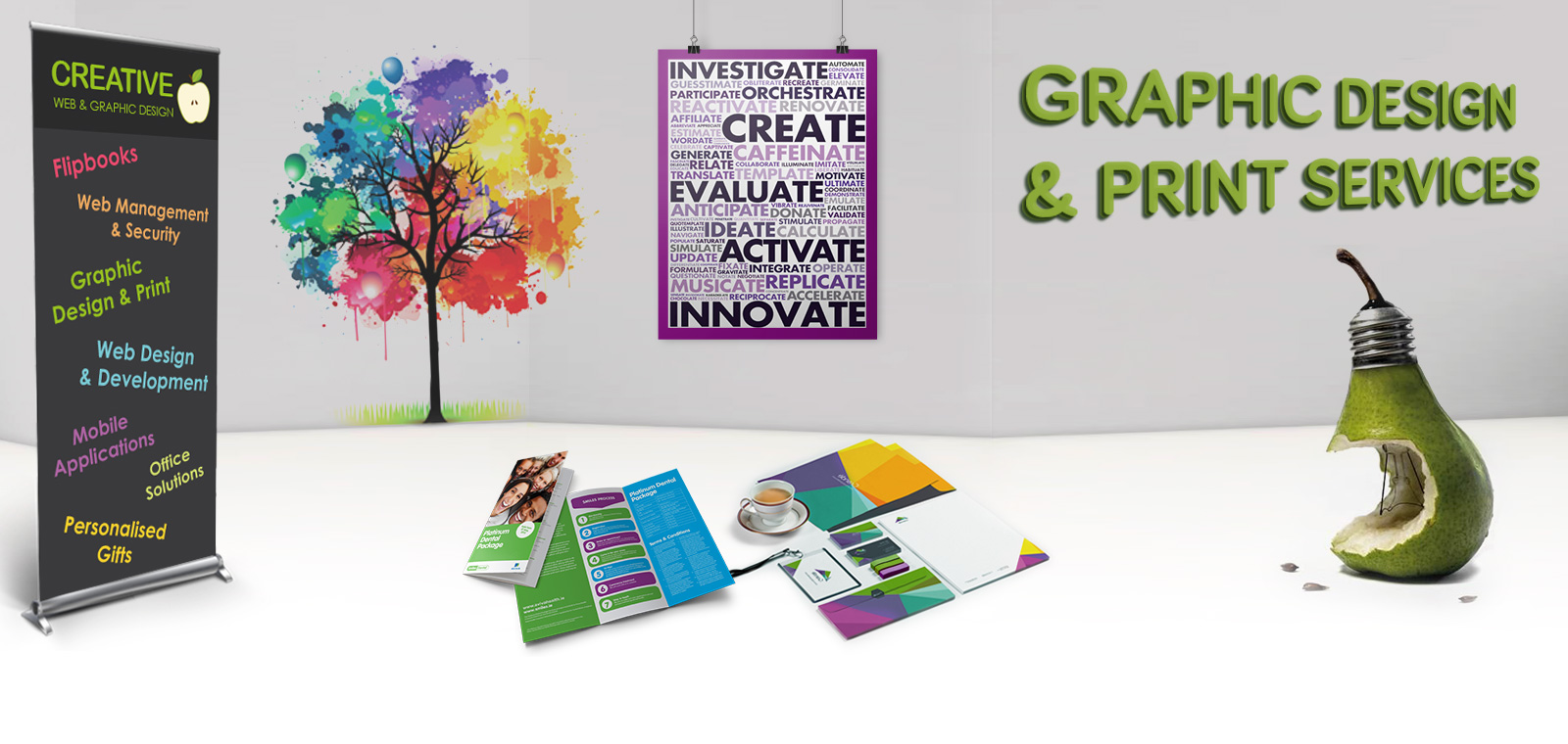 Graphic Design & Print Services - Stockport Design Agency