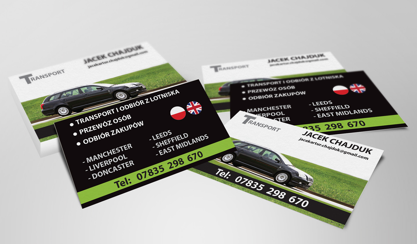 Transport - Jacek Chajduk - Business Cards - Web & Graphic Design ...