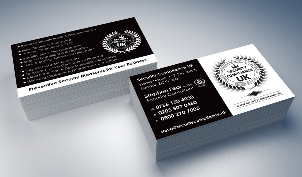Security compliance uk business cards web graphic design security compliance uk business cards reheart Image collections