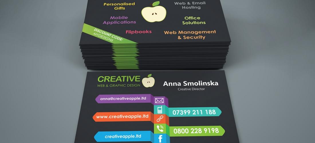 Creative Apple A&M Ltd. - Business Cards - Web & Graphic Design ...